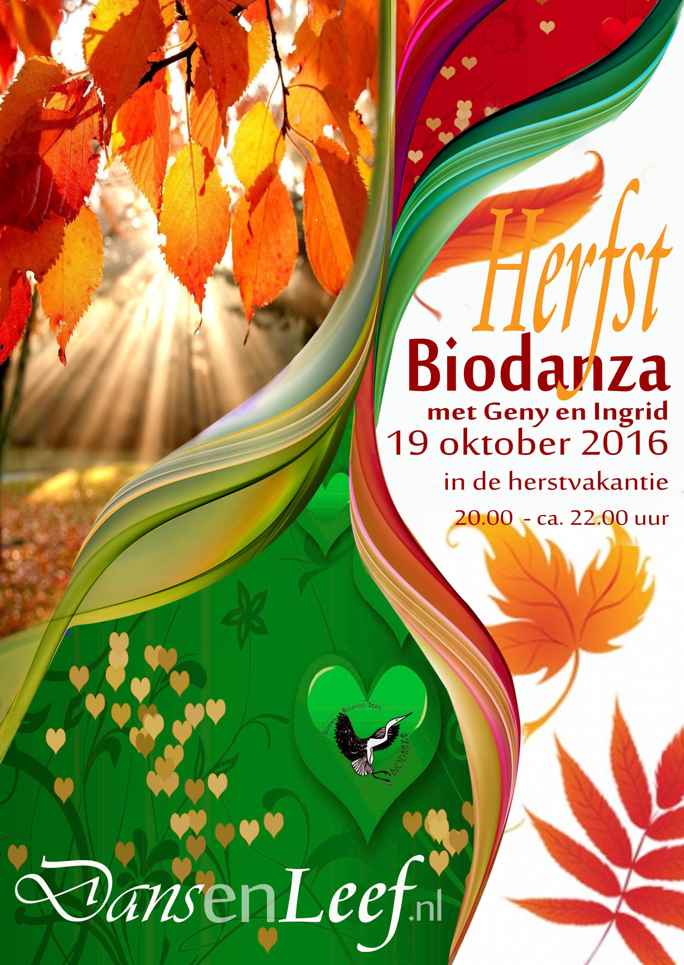 herfst biodanza Dans en leef